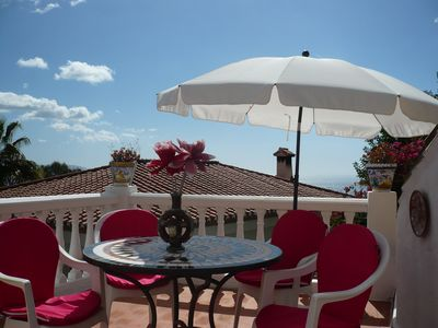 Photo for chalet bougainvillea sea view 500 m. from the beach available wifi