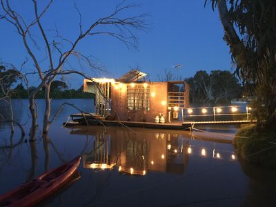 Photo for Bill's Boathouse - floating eco pod on the Murray River