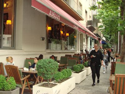 """Photo for In very prestigious district of Tbilisi, Vake, near the """"Round garden"""", absolutely safety area. Everything is near: a lot of variety of restaurants, cafes, bars , markets, supermarkets, gym..."""