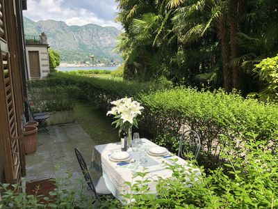 Photo for Spacious Bambusae apartment in Bellagio with WiFi, integrated air conditioning, private parking & p…