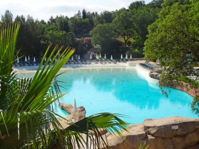 Photo for Vacation home Les Restanques Golfe Saint Tropez in Grimaud - 6 persons, 2 bedrooms