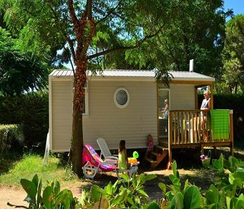 Photo for Camping Bon Port **** - Cozy Mobil Home 3 Rooms 4 People