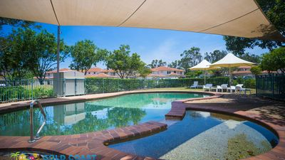 Photo for GOLD COAST HOLIDAY HOUSES  - ISLAND VILLA IN HOPE ISLAND-HEATED POOL FOR WINTER