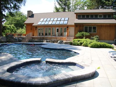 Photo for Luxury Home Just 1hr From NYC on Golf/Ski-Trail.  Tennis/ Basketball/Hiking.