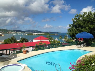 Breathtaking View From Schooner Bay Harbor Side Pool