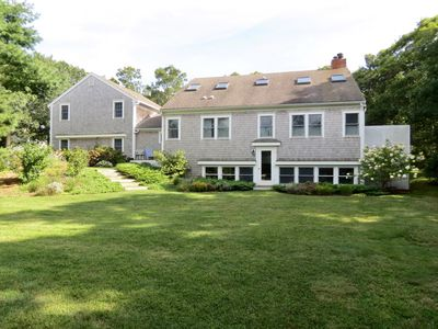 Photo for Walk to Brewster Beach, Sleeps 10 with In-Law Apartment; 111-B
