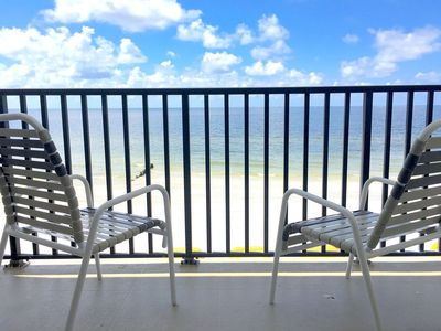 "Photo for Ocean Front Gem! King Master View 75ft To Water 2BD/2BA 55""TV Heated Pool WiFi"