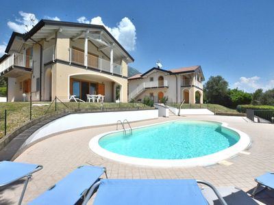 Photo for Apartment Fabiola With Pool Lake View - Apartment for 6 people in Toscolano-Maderno