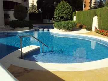 Spacious Comfortable 1 Bedroom Aircon Apartment 850 Mts From The Levante  Beach