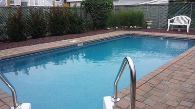 Photo for September Specials! Steps to Beach AND In-Ground Private Pool!