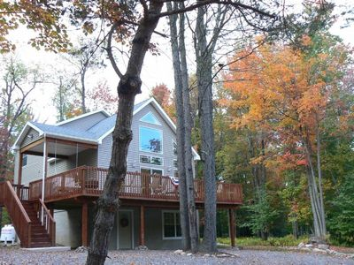 Photo for Beautiful New Pocono Chalet!  Wait to see this one!
