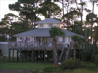 Photo for Waterfront, Bayfront Extraordinary Beautiful Private Home with 500ft Dock