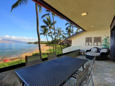 Photo for Gorgeous Beach Front Condo - Starting @ $762.00/night!! - Makena Surf E-202