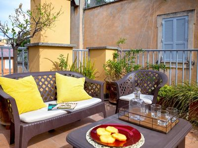 Photo for Rome apartment to let, self catered Rome apartment, Rome apartment with Terrace,Rome apartment rental