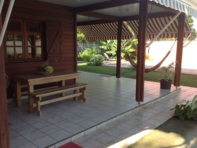 Photo for Caribbean villa in fruit garden with private pool
