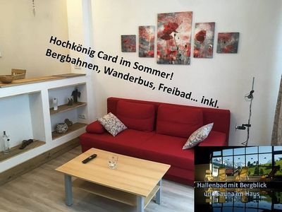 Photo for App.  Aberg on the ski slope with swimming pool, sauna and Hochkönig Card near the lift
