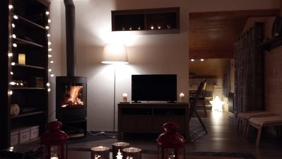"""Photo for Apartment style """"cottage"""" - sleeps 8 - St Gervais Mont Blanc"""