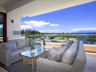 Photo for Relaxed Cancellation Policy - Stunning Views of Kapalua Bay Beach!!