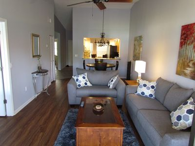 Photo for BREATHTAKING FULLY REMODELED  2BA/2BR Condo. Mins to beach.Email for discounts