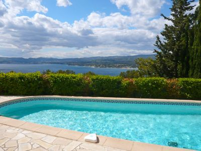 Photo for Les Lecques Holiday Home, Sleeps 10 with Pool and Free WiFi