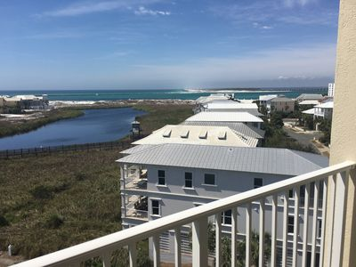 Photo for Top floor, end unit 718 AMAZING Sunsets *FREE BEACH SERVICE*