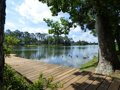 You Will Love This Lake Front Home, Fish from the Dock.