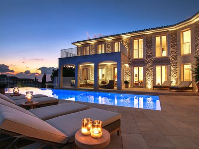 Photo for Mansion Andratx is a luxury super villa with an infinity pool, gym and breathtaking views