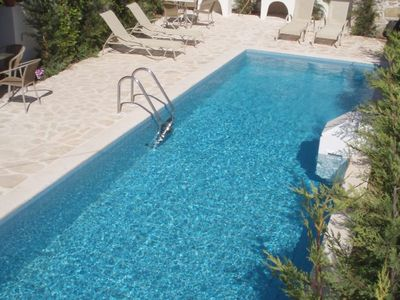 Photo for Villa Kynthia - Spacious villa, full of character with private pool and BBQ! - Free WiFi