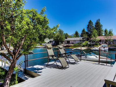 Over-water Deck - Enjoy the sun on this over-water platform leading to your private dock