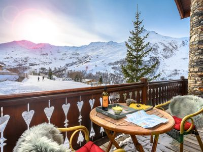Photo for Exclusive Ski Chalet in 3 Valleys. 12-14 Beds. Ski in/out. Catering optional