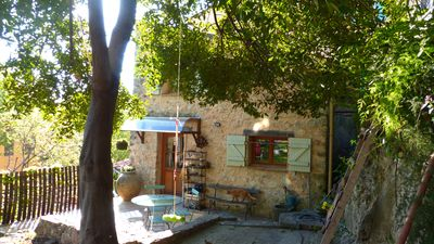 Photo for Little house in the heart of one of the most beautiful villages in France