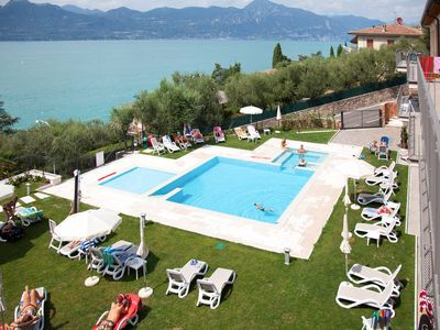 Photo for Apartment Residence La Corte Danese  in Torri del Benaco (VR), Lake Garda/ Lago di Garda - 6 persons, 2 bedrooms