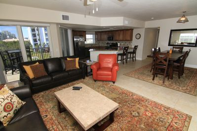 Spacious and Updated! This roomy 3/2 condo . Take advantage of the large living area!