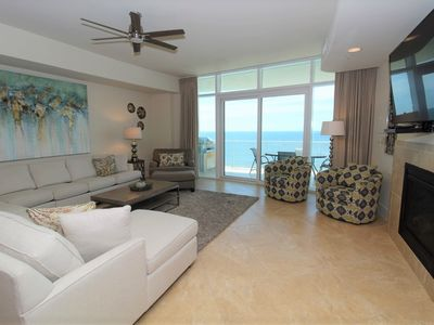 Photo for Turquoise C1603-Beach Front w/Large Terrace & Hot Tub, Saltwater Lazy River!