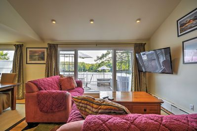 The interior features comfortable furnishings and tasteful decor.
