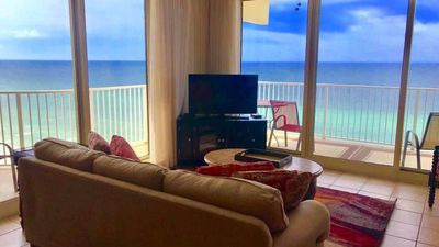 Photo for August  15-28 CLEARANCE!  *Beach chairs included* oceanfront corner unit