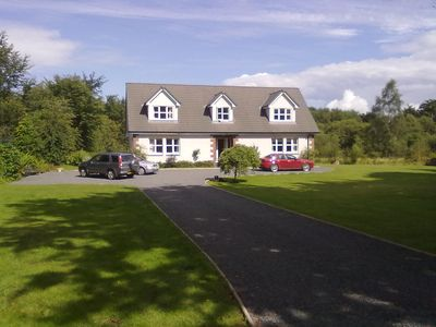 Photo for Recently Built 4 Bedroom Country House with 1 acre gardens