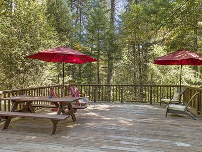 Photo for 3BR Cabin Vacation Rental in Whispering Pines,( Cobb ), California