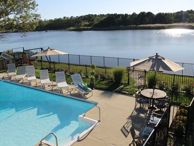 Private Tranquil Waterfront Home with Pool, Dock, Kayaks & 4 Beach Badges!