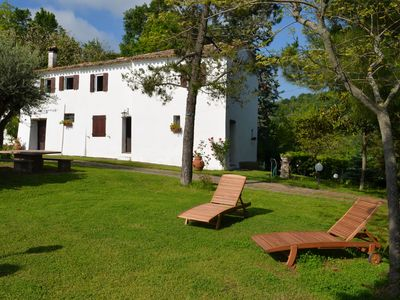 Photo for Historical country house with panoramic terrace in quiet and green surroundings.