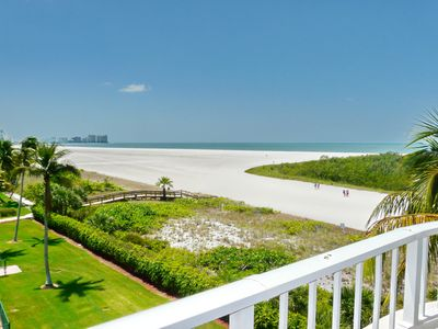 Photo for Front unit facing beach, w/ wraparound balcony for spellbinding views