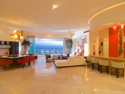 Photo for Gorgeous Penthouse on exclusive private Mayan Island Resort