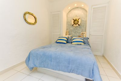 Second room with matrimonial bed (double bed)