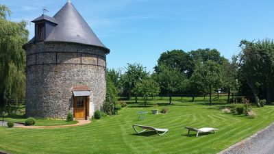 Photo for The Pigeonnier de la laterne, charming guesthouse, situated in the Normandie