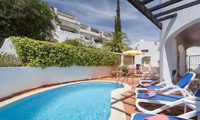 Photo for Casa Bella, Vale Do Lobo, Algarve - 3 bed apartment with private pool