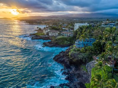 Photo for Hale Moku: Panoramic Oceanfront Experience Spacious Two-Story Home Overlooking K