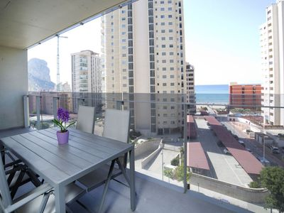 Photo for Apartment Mirador de Calpe  in Calpe/ Calp, Costa Blanca - 4 persons, 2 bedrooms