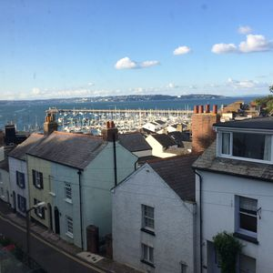 Photo for Traditional Fisherman's cottage, sea views, close to harbour.Free parking & WiFi