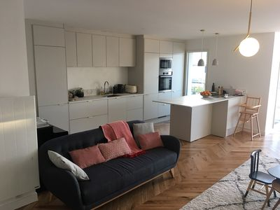 Photo for Beautiful apartment, 100m2, 3 bedrooms, south of Paris for 6 people
