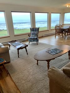 Photo for Ocean Front Family Friendly 1 Story 3 Bedroom on the beach at Roads End, OR